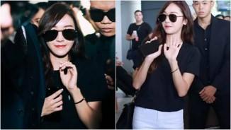 """Giữa trưa nắng, Jessica SNSD quá """"hot"""" nên khó thoát vòng vây fan Việt"""