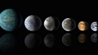Phát hiện 10 hành tinh giống trái đất trong hệ mặt trời