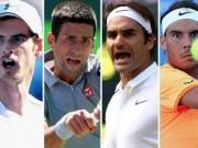 """Wimbledon 2017: """"Big 4"""" tụ hội, chờ bán kết trong mơ"""