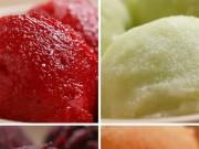 Ẩm thực - Tự làm kem trái cây tại nhà siêu dễ chỉ với 2 nguyên liệu