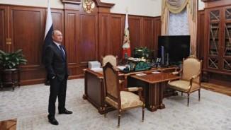 Xem văn phòng bí mật của Putin, báo chí không được vào