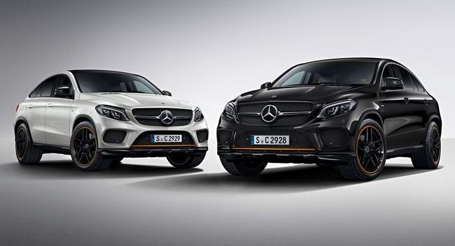 Mercedes-Benz GLE Coupe thêm bản đặc biệt OrangeArt - 1