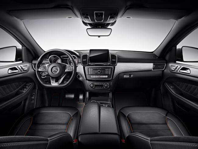 Mercedes-Benz GLE Coupe thêm bản đặc biệt OrangeArt - 3