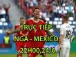 TRỰC TIẾP bóng đá Nga - Mexico: Chủ nhà quyết thắng bằng mọi giá