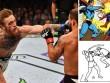 Cú đấm siêu nhân: McGregor hạ Mayweather với độc chiêu MMA?