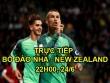 TRỰC TIẾP Bồ Đào Nha - New Zealand: Ronaldo suýt lập công