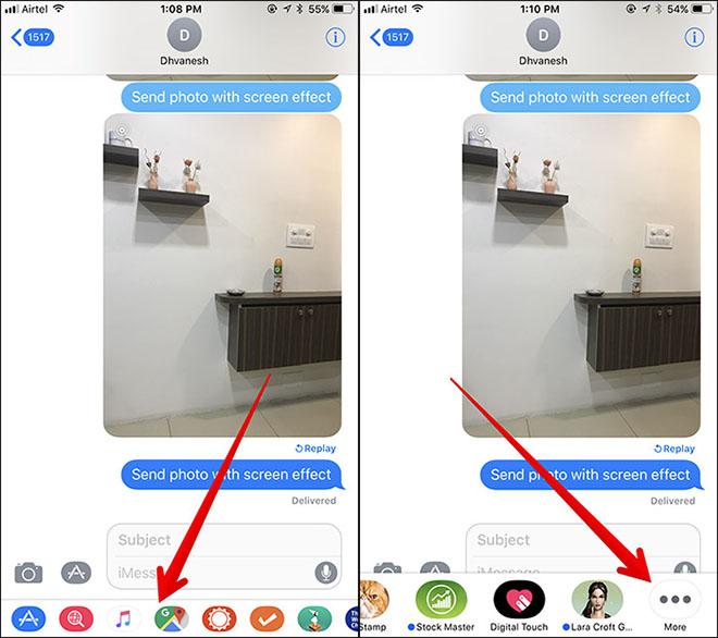 Tùy chỉnh giao diện iMessage cho iPhone, iPad chạy iOS 11 - 1
