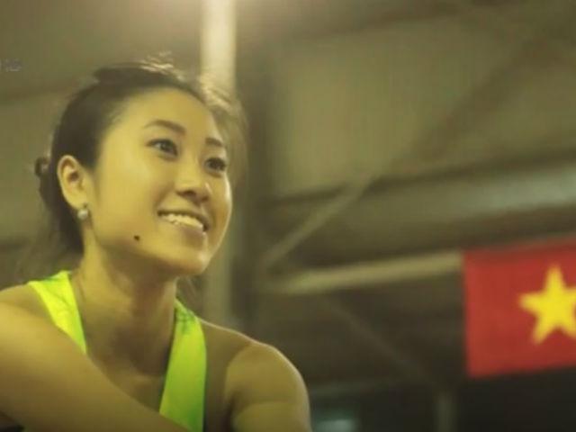 Hot girl việt kiều Nhật Linh và giấc mơ Vàng SEA Games