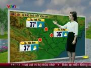 Dự báo thời tiết VTV 25/6: Bắc Bộ ngày nắng nóng, đêm mưa dông