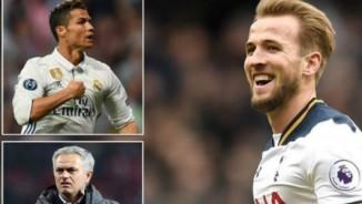 Sốc: Mourinho bỏ qua Ronaldo, muốn mua Harry Kane 100 triệu bảng