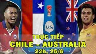 "TRỰC TIẾP Chile - Australia: SAO trẻ ""cứu giá"" (KT)"