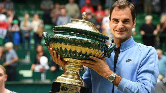 Tennis 24/7: Lập kỳ tích ở Halle, Federer mơ cúp vàng Wimbledon - 1