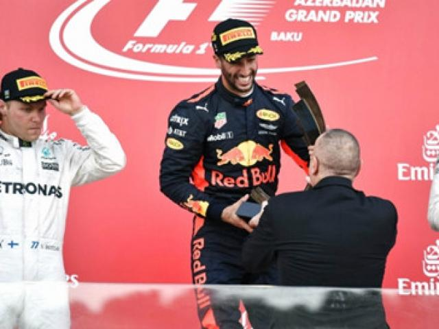 BXH đua xe F1 - Azerbaijan GP: