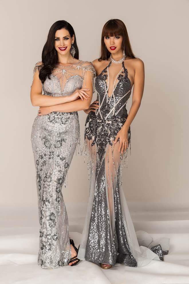 Hà Anh không lu mờ trước nhan sắc Hoa hậu Hoàn vũ 2005 - 5