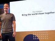 Mark Zuckerberg hé lộ nhiệm vụ mới của Facebook