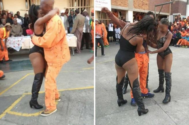 Thuê vũ nữ thoát y biểu diễn, nhảy cùng tù nhân Nam Phi - 1