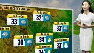 Dự báo thời tiết VTV 27/6: Bắc Bộ mưa rào và dông bất chợt