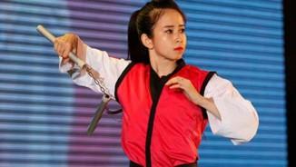 """Hot girl Châu Tuyết Vân quyết """"gặt"""" 2 HCV SEA Games"""