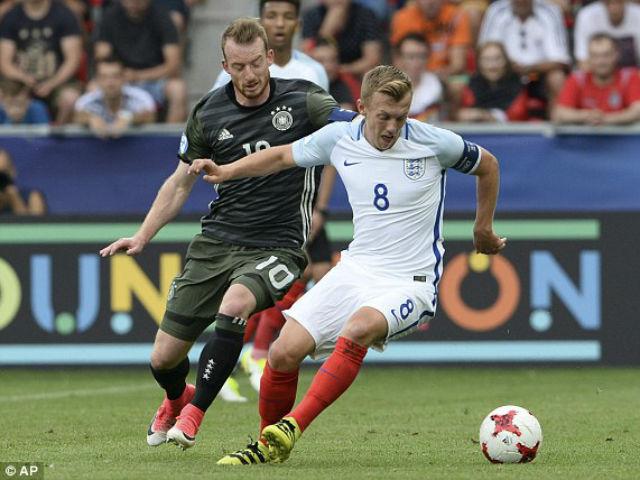 U21 Anh - U21 Đức: 4 bàn &