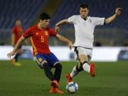 "U21 Tây Ban Nha - U21 Italia: Hat-trick ""siêu nhân"" 21 phút (BK U21 châu Âu)"