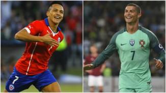 TRỰC TIẾP Bồ Đào Nha - Chile: Ronaldo bỏ lỡ đáng tiếc