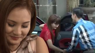 Việt Anh, Bảo Thanh diễn cảnh tình nhân mùi mẫn trên màn ảnh