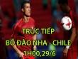 TRỰC TIẾP bóng đá Bồ Đào Nha - Chile: Ronaldo mơ vé chung kết