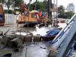 Cột nước cao hơn 5m bất ngờ bốc lên từ đường Lê Lợi