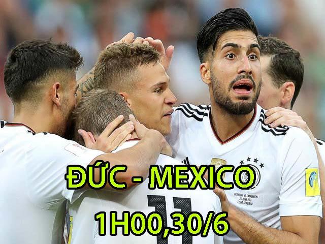 Đức – Mexico: