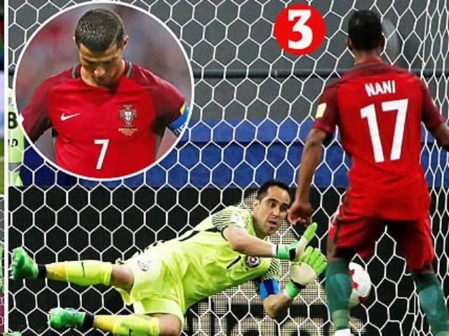 Confed Cup: Bravo bay như siêu nhân, Ronaldo cúi đầu khuất phục