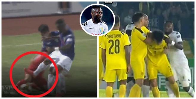 Hoàng Vũ Samson 2 lần nhận thẻ đỏ: Tiếng xấu từ V-League tới châu Á - 1