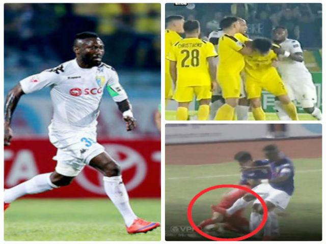 Hoàng Vũ Samson 2 lần nhận thẻ đỏ: Tiếng xấu từ V-League tới châu Á