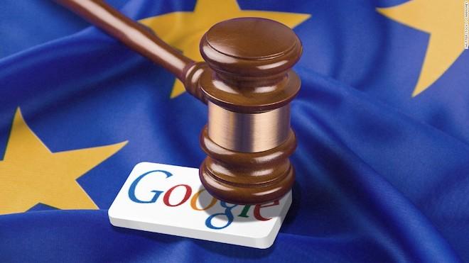 """Hết Apple tới Facebook, giờ là Google bị châu Âu phạt """"khủng"""" - 1"""