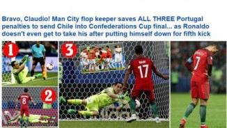 """Báo chí thế giới: Hàng hớ Man City """"cướp sô"""" Ronaldo"""