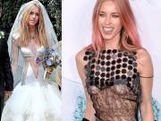 """Thời trang - """"Cô dâu bạo nhất nước Anh"""" lại gây sốc với váy lộ 80% cơ thể"""