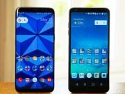 """Dế sắp ra lò - Samsung Galaxy S8 vs LG G6: """"Xứ Kim Chi tranh hùng"""""""