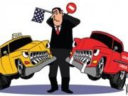 """Tài chính - Bất động sản - """"Cuộc chiến"""" taxi truyền thống và Uber, Grab: Kịch tính!"""