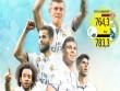 """Đội hình Real đắt giá nhất thế giới: """"Dải thiên hà"""" 800 triệu euro"""