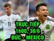 TRỰC TIẾP bóng đá Đức - Mexico: Lấy công bù thủ bất đắc dĩ