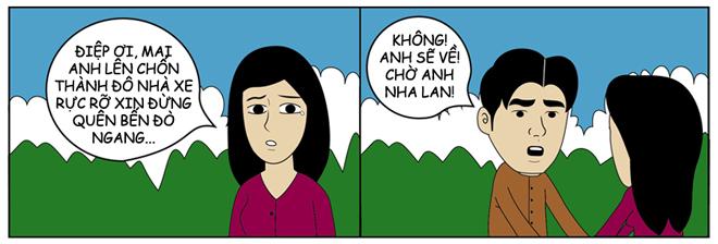 Truyện tranh: Điệp ở lại nha, Lan đi lấy chồng Hàn Quốc - 1