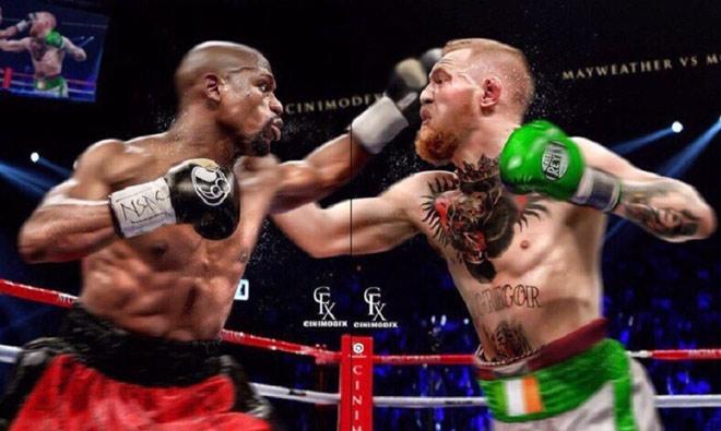 """McGregor - Mayweather đấu tỷ đô: """"Gã điên"""" cậy nhờ 2 cao thủ - 1"""