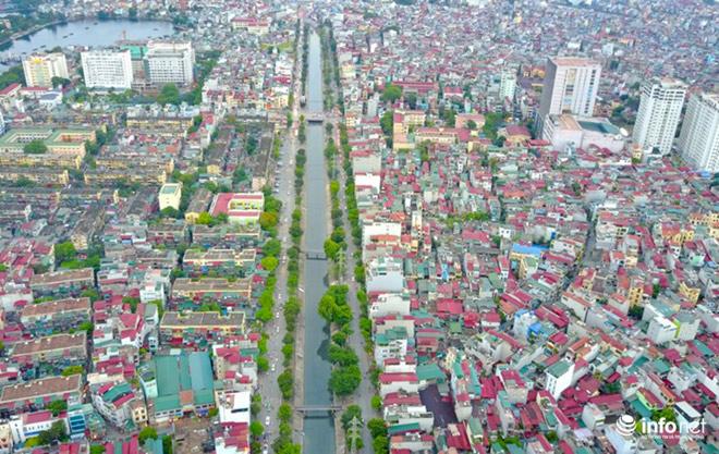 """Cận cảnh những dòng sông """"chết"""" ở Hà Nội sắp được hồi sinh - 12"""