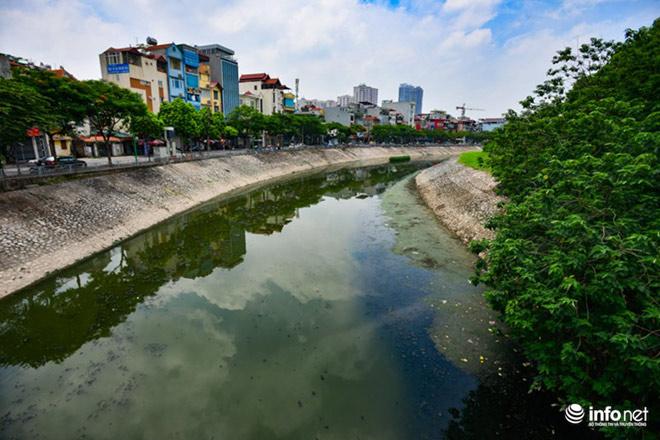 """Cận cảnh những dòng sông """"chết"""" ở Hà Nội sắp được hồi sinh - 3"""