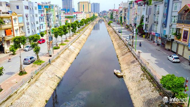 """Cận cảnh những dòng sông """"chết"""" ở Hà Nội sắp được hồi sinh - 5"""