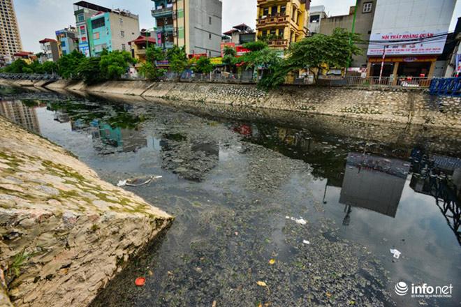 """Cận cảnh những dòng sông """"chết"""" ở Hà Nội sắp được hồi sinh - 6"""