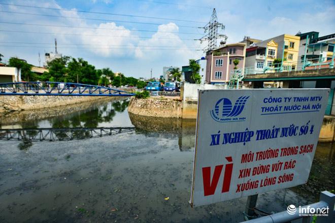 """Cận cảnh những dòng sông """"chết"""" ở Hà Nội sắp được hồi sinh - 7"""