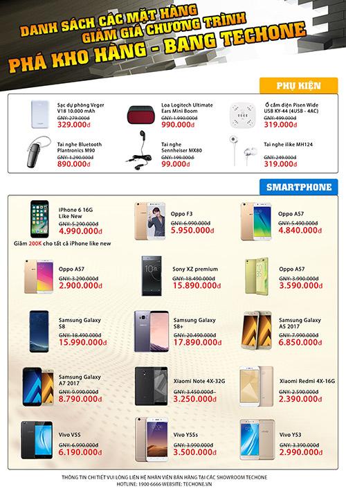 Smartphone sale sập sàn- Phá kho hàng TechOne - 2