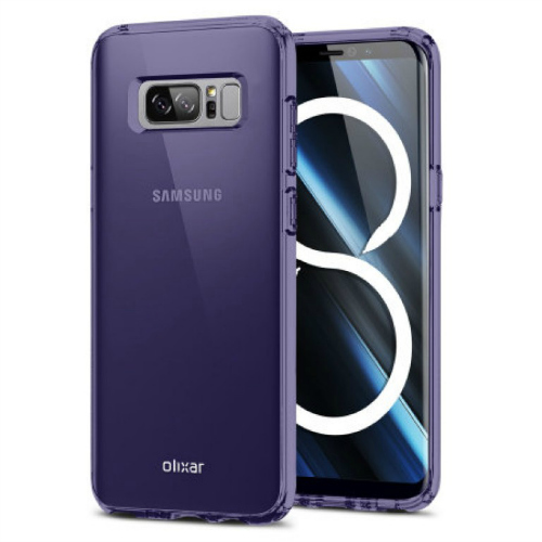 Lộ Galaxy Note 8 có camera sau kép, cảm biến vân tay cạnh camera - 2