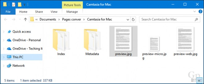 Cách mở tập tin tạo bởi iWork trên Microsoft Office - 2
