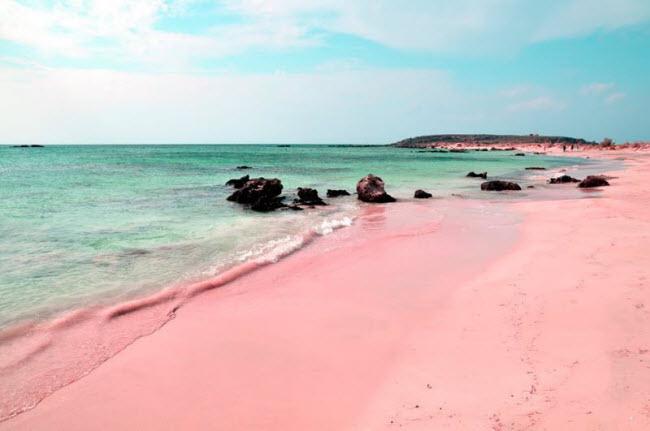 Nằm trên đảo Harbour ở Bahamas, Pink Sands là một trong những bãi biển sắc màu nổi tiếng nhất thế giới.